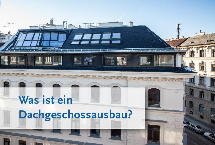 Was ist ein Dachgeschossausbau?